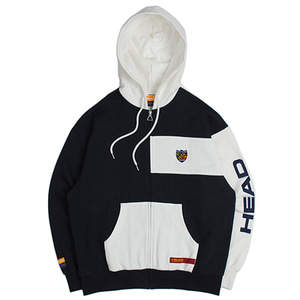 HEAD BY RMTC 1950 Zip Up hoodie_Navy
