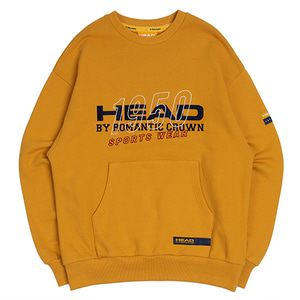 HEAD BY RMTC Sweat Shirt_Yellow