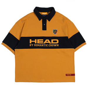 HEAD BY RMTC Polo T Shirt_Yellow
