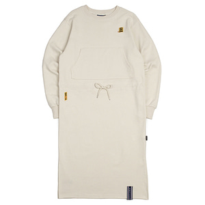 GNAC Sweat Dress_Oatmeal