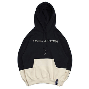 10th Lively Wide Hoodie_Navy