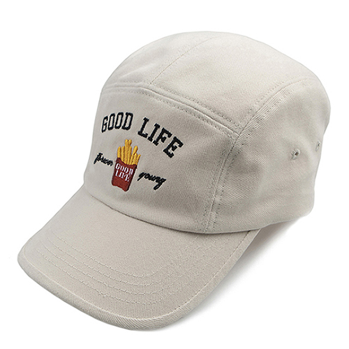 10th Good Life Camp Cap_Oatmeal