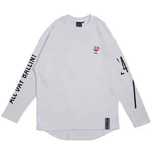 10th All Day Long Sleeve_White