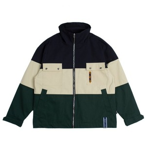 Easy Day Vibe Combination Jacket_Green