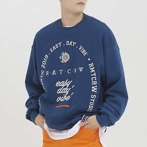 RMTCRW Studio Sweat Shirt_Blue