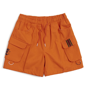 E.D.V CARGO SHORT PANTS_ORANGE