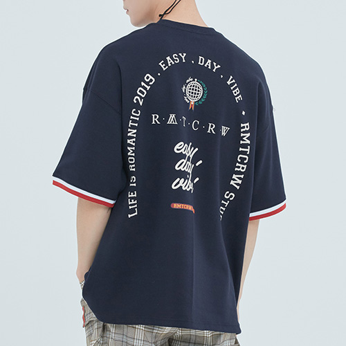 RMTCRW Studio T Shirt_Navy