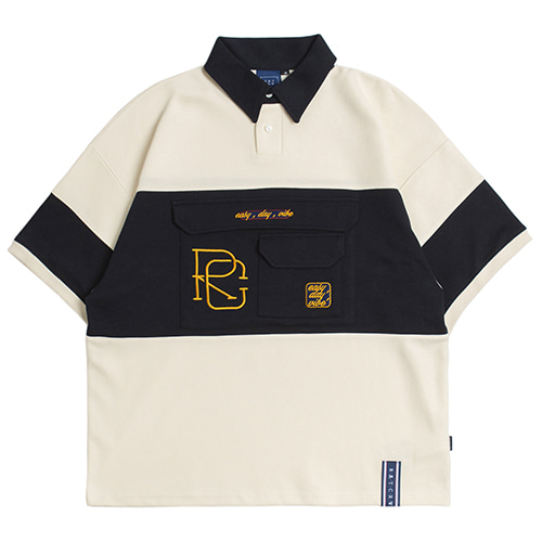 RC Big Pocket Polo Shirt_Oatmeal