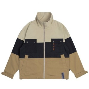 Easy Day Vibe Combination Jacket_Beige
