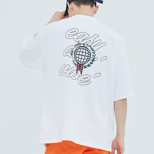 Easy Day Vibe T Shirt_White