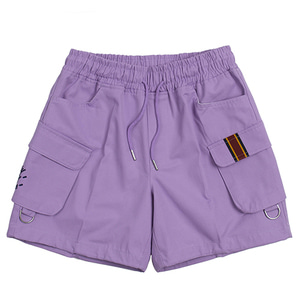 E.D.V CARGO SHORT PANTS_PURPLE