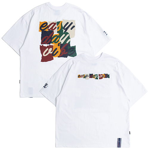 E.D.V Splinter T Shirt_White