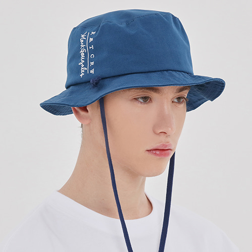 [R.C X M.G]Travel Bucket Hat_Blue