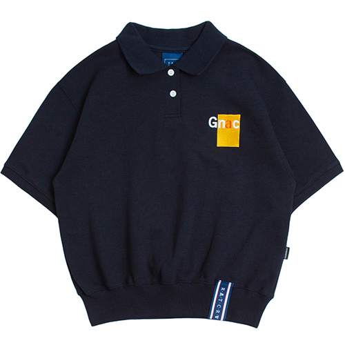 GNAC Polo T Shirt_Navy
