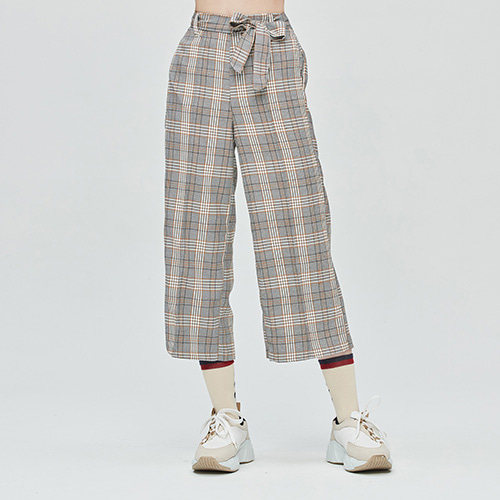 GNAC CHECK PANTALON_BLACK