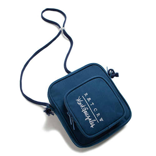 [R.C X M.G]Pocket Cross Bag_Blue