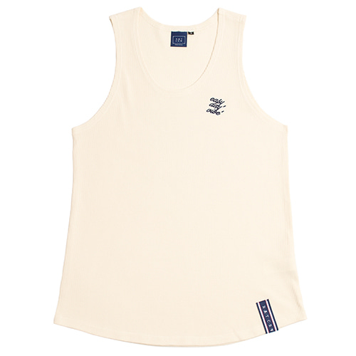 E.D.V Out Line Sleeveless_Oatmeal