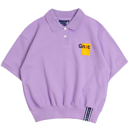 GNAC Polo T Shirt_Purple