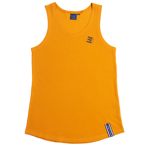 E.D.V Out Line Sleeveless_Yellow