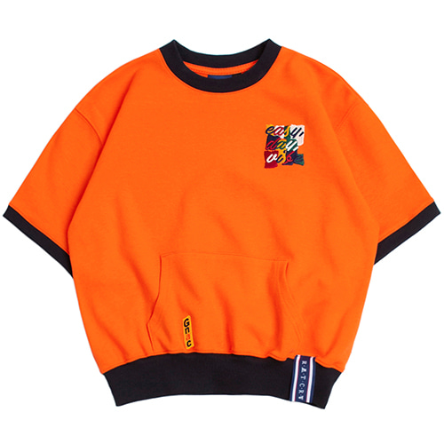 GNAC POCKET T SHIRT_ORANGE