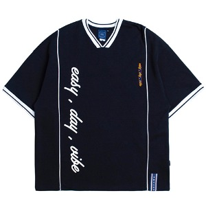 [1/29 예약발송]Easy Day Vibe Jersey_Navy