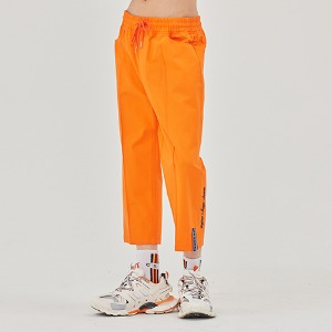 E.D.V COTTON ANKLE PANTS_ORANGE
