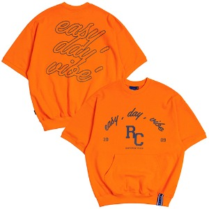 E.D.V POCKET T SHIRT_ORANGE