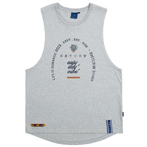 [1/29 예약발송]RMTCRW Studio Sleeveless_Grey