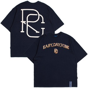E.D.V Big Logo T Shirt_Navy
