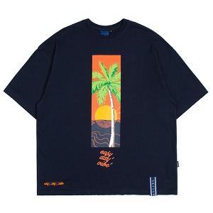 E.D.V Sunset T Shirt_Navy