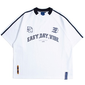 [1/29 예약발송]E.D.V Foot Ball Jersey_White
