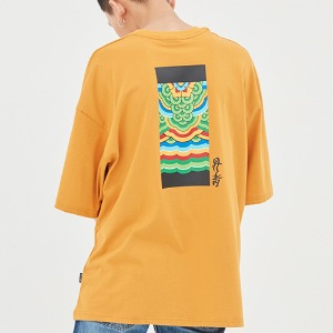 Dancheong T Shirt_Yellow