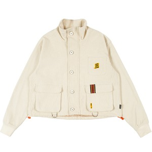 GNAC MULTI POCKET JACKET_OATMEAL