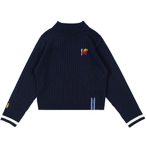 UNLOCK YOUR MIND KNIT_NAVY