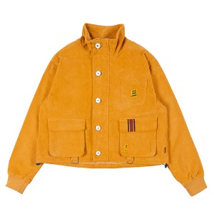 GNAC MULTI POCKET JACKET_YELLOW