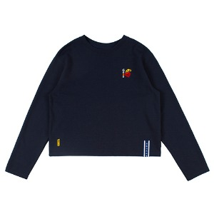 UNLOCK YOUR MIND LONG SLEEVE_NAVY