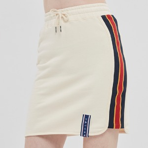 SIDE LINE SPORTS SKIRT_OATMEAL