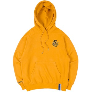 21C BOYS RMTCRW LOGO HOOD_YELLOW