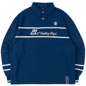 21C BOYS RUGBY SHIRT_BLUE