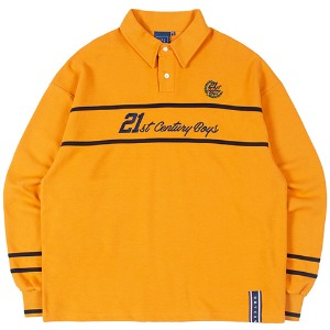 21C BOYS RUGBY SHIRT_YELLOW