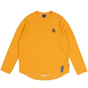 21C BOYS LONG SLEEVE_YELLOW