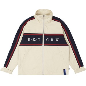 21C BOYS RACING JACKET_OATMEAL