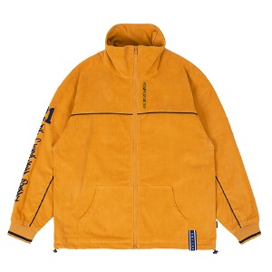 CORDUROY PIPING JACKET_YELLOW