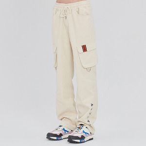 CORDUROY POCKET PANTS_OATMEAL