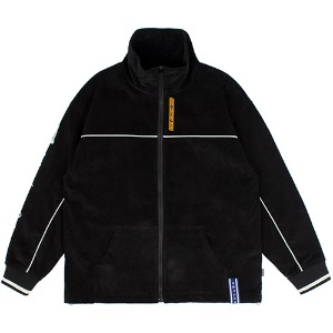 CORDUROY PIPING JACKET_BLACK