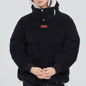 INUIT CORDUROY DOWN PARKA_BLACK