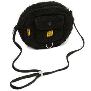 GNAC FLEECE COIN BAG_BLACK