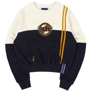 GNAC COLOR BLOCK SWEATSHIRT_OATMEAL