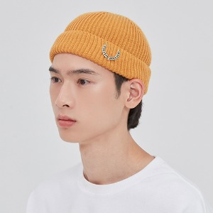 LAUREL CROWN WATCH CAP_YELLOW