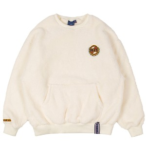 [1/29 예약발송]ALL FLEECE POCKET CREW NECK_OATMEAL
